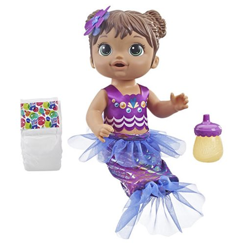 Baby Alive Shimmer `n Splash Mermaid Doll