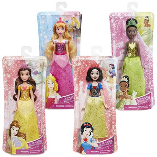 Disney Princess Shimmer Fashion Dolls B Wave 1 Set