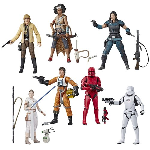 Star Wars The Black Series 6-Inch Action Figures Wave 2 Case