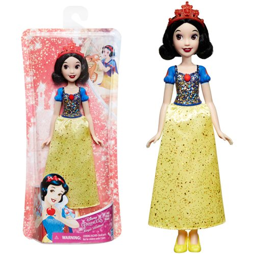 Disney Princess Royal Shimmer Snow White Doll with Tiara