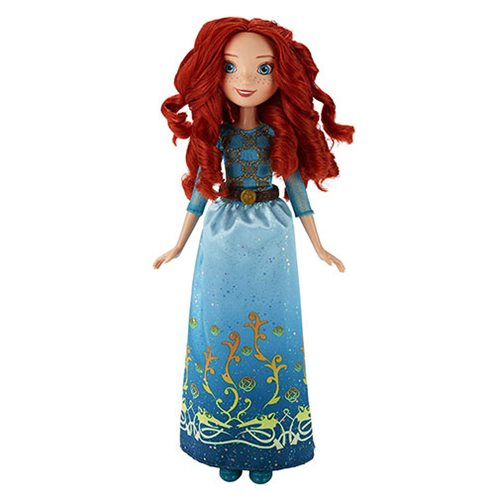 Disney Princess Royal Shimmer Merida Doll with Headband