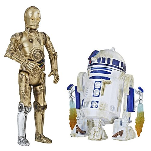 Star Wars Solo C-3PO and R2-D2 Action Figures - Exclusive