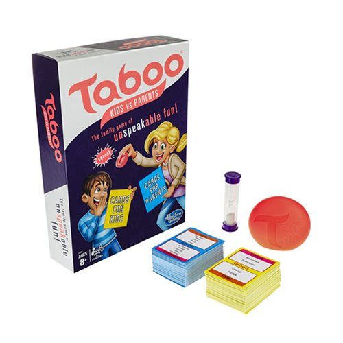Taboo Kids vs. Parents Game