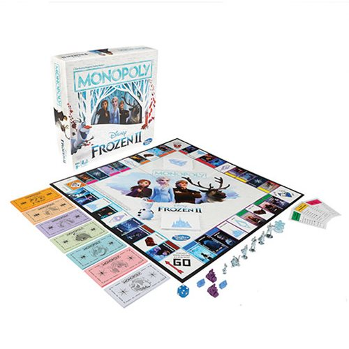 Frozen 2 Edition Monopoly Game