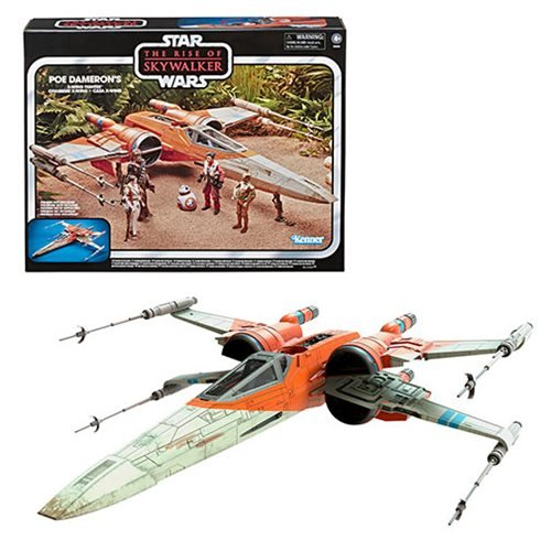 Star Wars The Vintage Collection Poe Dameron X-Wing Fighter