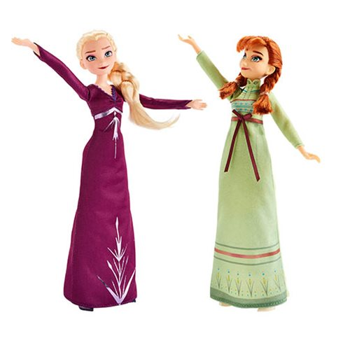Frozen 2 Doll and Fashion Wave 1 Set