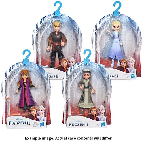 Frozen 2 Small Dolls Wave 1 Revision 1 Case