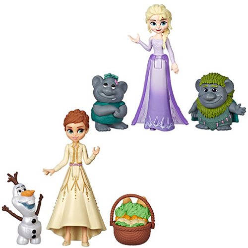 Frozen 2 Small Doll and Friends Wave 1 Case