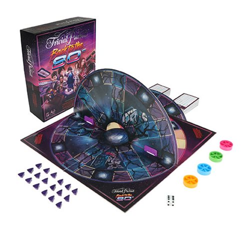 Stranger Things Back to the 80s Trivial Pursuit Game
