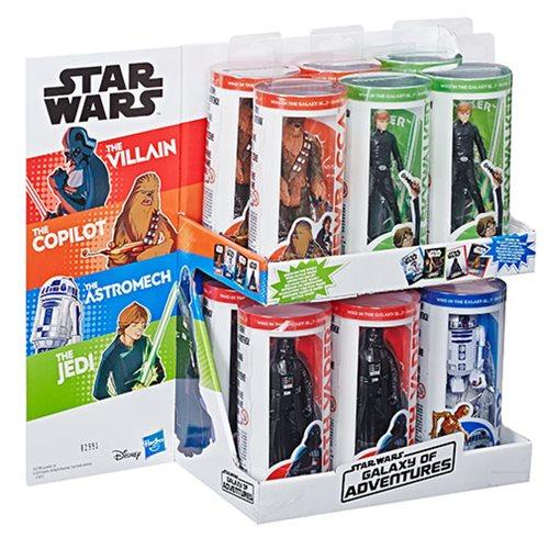 Star Wars Galaxy of Adventure Action Figures Wave 1 Case