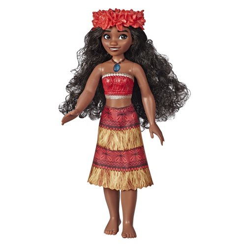 Disney Princess Musical Moana Fashion Doll with Shell Necklace