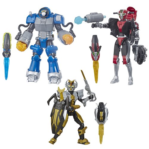Power Rangers Beast Morphers Deluxe Action Figures Wave 1 R1