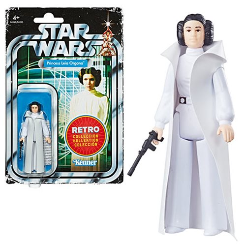 Star Wars The Retro Collection Princess Leia Action Figure