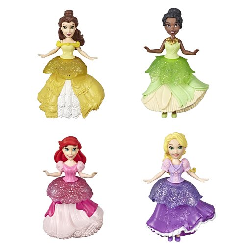 Disney Princess Royal Clips Dolls Wave 1 Set