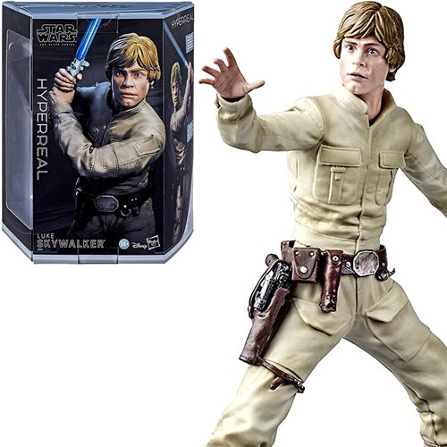 Star Wars Luke Skywalker Hyperreal 8-Inch Figure, Not Mint