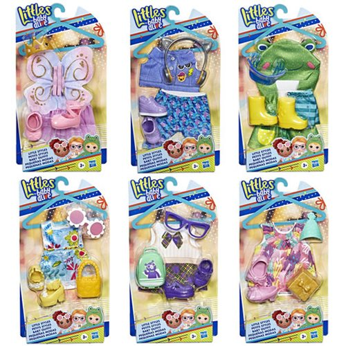 Baby Alive Littles Little Styles Outfits Wave 1 Case