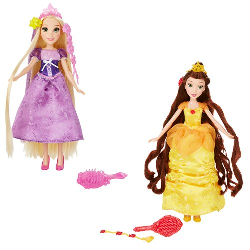 Disney Princess Hair Style Creations Dolls Wave 1 Set