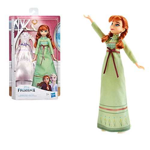 Frozen 2 Arendelle Fashions Anna Doll With 2 Outfits