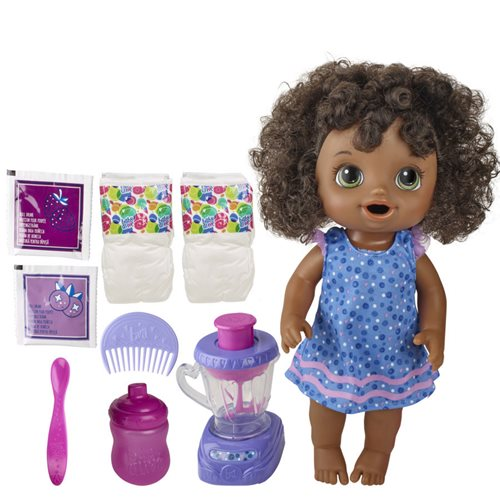 Baby Alive Magical Mixer Baby Doll - Black Hair