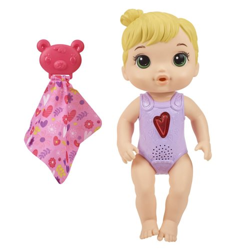 Baby Alive Happy Heartbeats Baby Doll - Blonde Hair