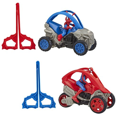 Spider-Man Rip N Go Vehicles Wave 1 Set