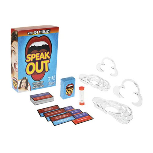 Speak Out Game - with 400 Phrases