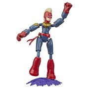 Twist! Turn! Flex your power! Kids can bend, flex, pose, and play with their favorite Marvel Super Heroes with this super agile Marvel Avengers Bend And Flex Captain Marvel Action Figure! Collect characters inspired by the Marvel Universe with a twist (each sold separately.) These stylized Super Hero action figures have bendable arms and legs that can bend and hold in place for the picture-perfect pose! There's plenty of heroic daring and dramatic action when kids shape their Bend And Flex figures into plenty of playful poses. Ages 4 and up.