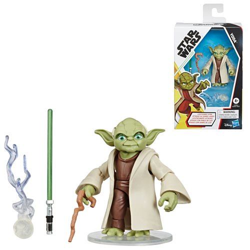Star Wars Galaxy of Adventures Yoda 5-Inch Action Figure