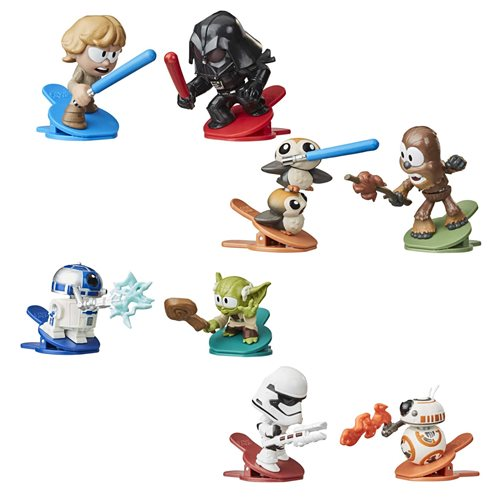Star Wars Battle Bobblers Showdowns 2-Packs Wave 1 Set