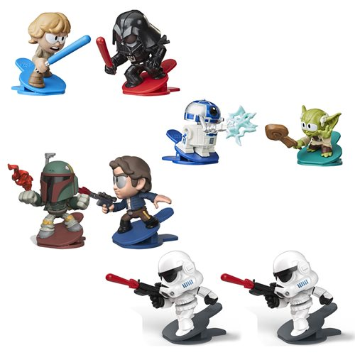 Star Wars Battle Bobblers Showdowns 2-Packs Wave 2 Case
