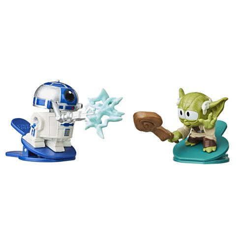 Star Wars Battle Bobblers R2-D2 vs. Yoda