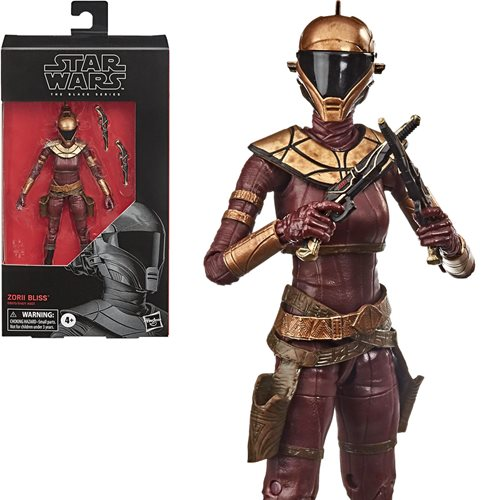 Star Wars The Black Series Zorii Bliss 6-Inch Action Figure
