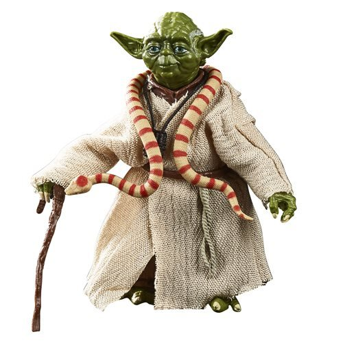 Star Wars The Black Series Empire Strikes Back 40th Anniversary 6-Inch Yoda Action Figure