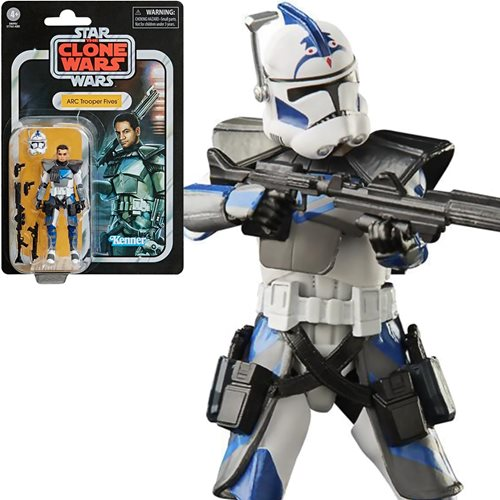 Star Wars The Vintage Collection Clone Trooper Fives Figure