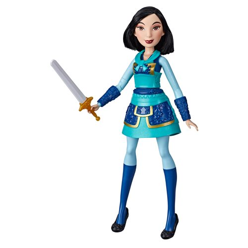 Disney Princess Warrior Moves Mulan Doll