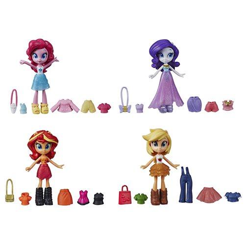 My Little Pony Equestria Girls Fashion Squad Doll Wave 1 Set