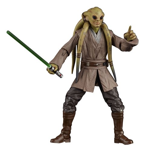Star Wars The Black Series Kit Fisto 6-Inch Action Figure