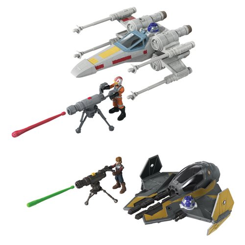 Star Wars Mission Fleet Stellar Class Vehicles Wave 1 Set