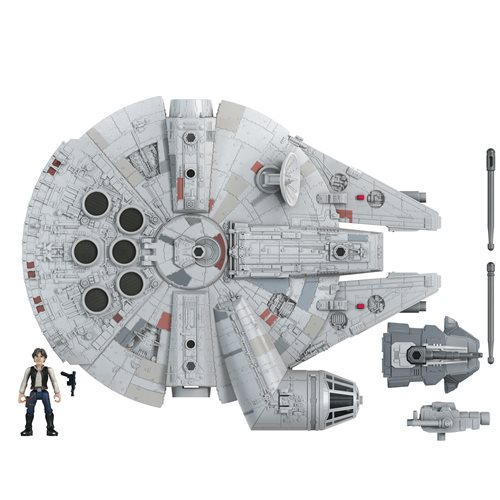 Star Wars Mission Fleet Han Solo Millennium Falcon Vehicle
