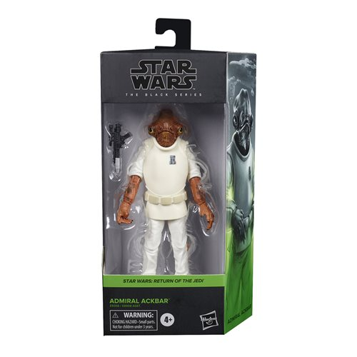 Star Wars The Black Series Admiral Ackbar Action Figure