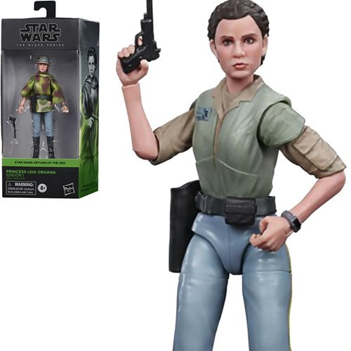 Star Wars The Black Series Leia Battle Poncho Action Figure