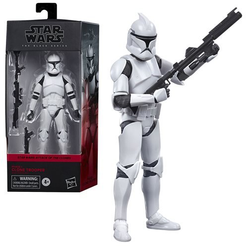 Star Wars Black Series Clone Trooper AOTC Action Figure