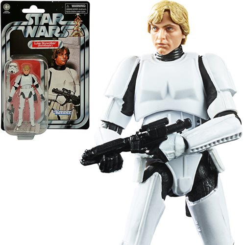 Star Wars TVC Luke Skywalker Stormtrooper Action Figure