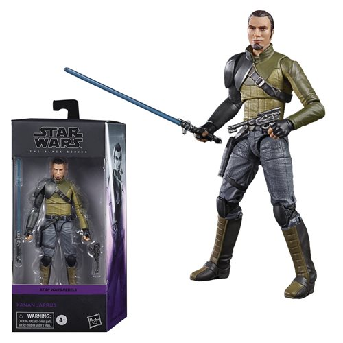 Star Wars TBS Kanan Jarrus 6-Inch Action Figure, Not Mint