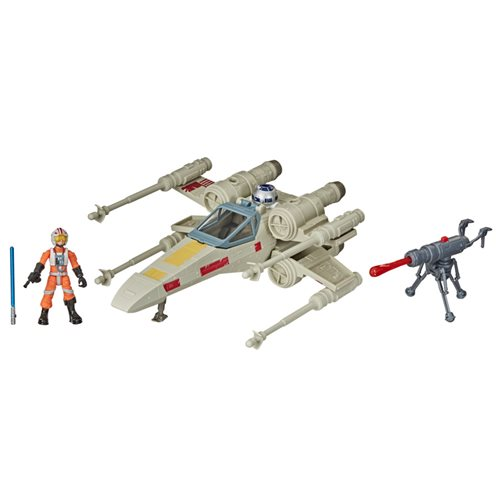 Star Wars Mission Fleet Stellar Class Luke's X-wing Fighter