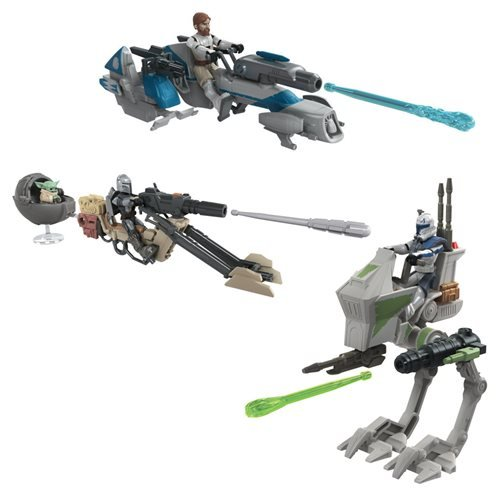 Star Wars Mission Fleet Expedition Class Vehicle Wave 1 Case