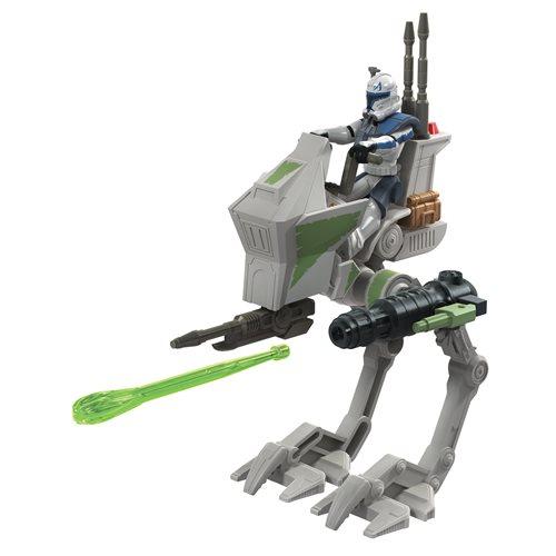 Star Wars Mission Fleet Rex Clone Combat AT-RT