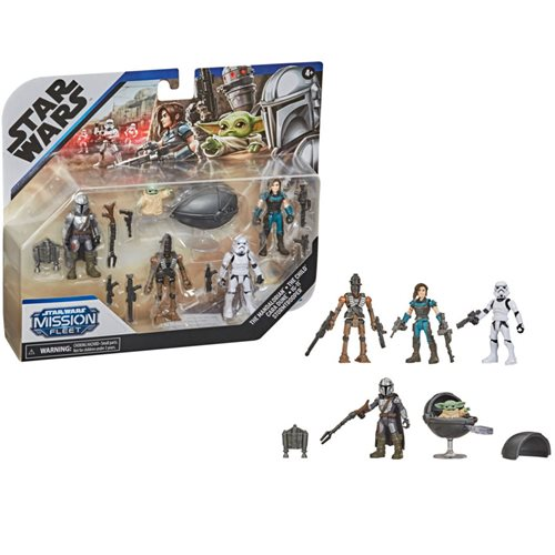 Star Wars Mission Fleet Defend the Child Action Figure Set