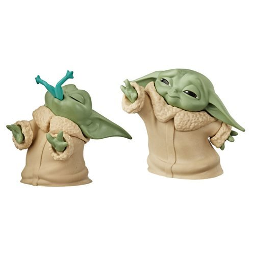 Star Wars Baby Bounties Frog and Force Mini-Figures