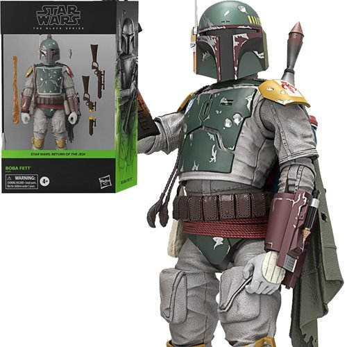Star Wars The Black Series Boba Fett Deluxe Action Figure